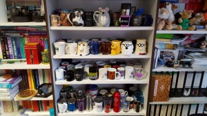 My mug and classes collection -- Picture by Bernd Mohr
