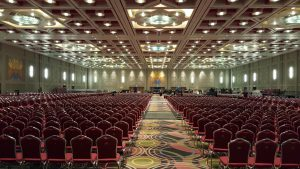 SPCC main ballroom -- Picture by Bernd Mohr