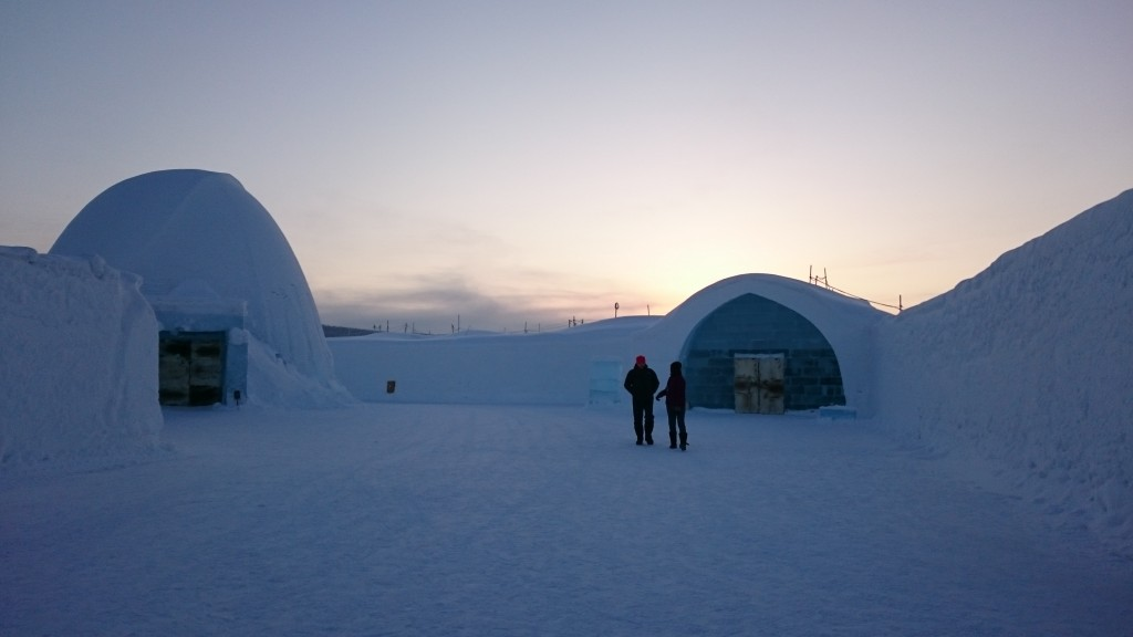 Icehotel Jukkasjärvi. Picture by Isabell Krisch, FZJ.