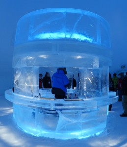 Icebar. Picture by Peter Preusse, FZJ.