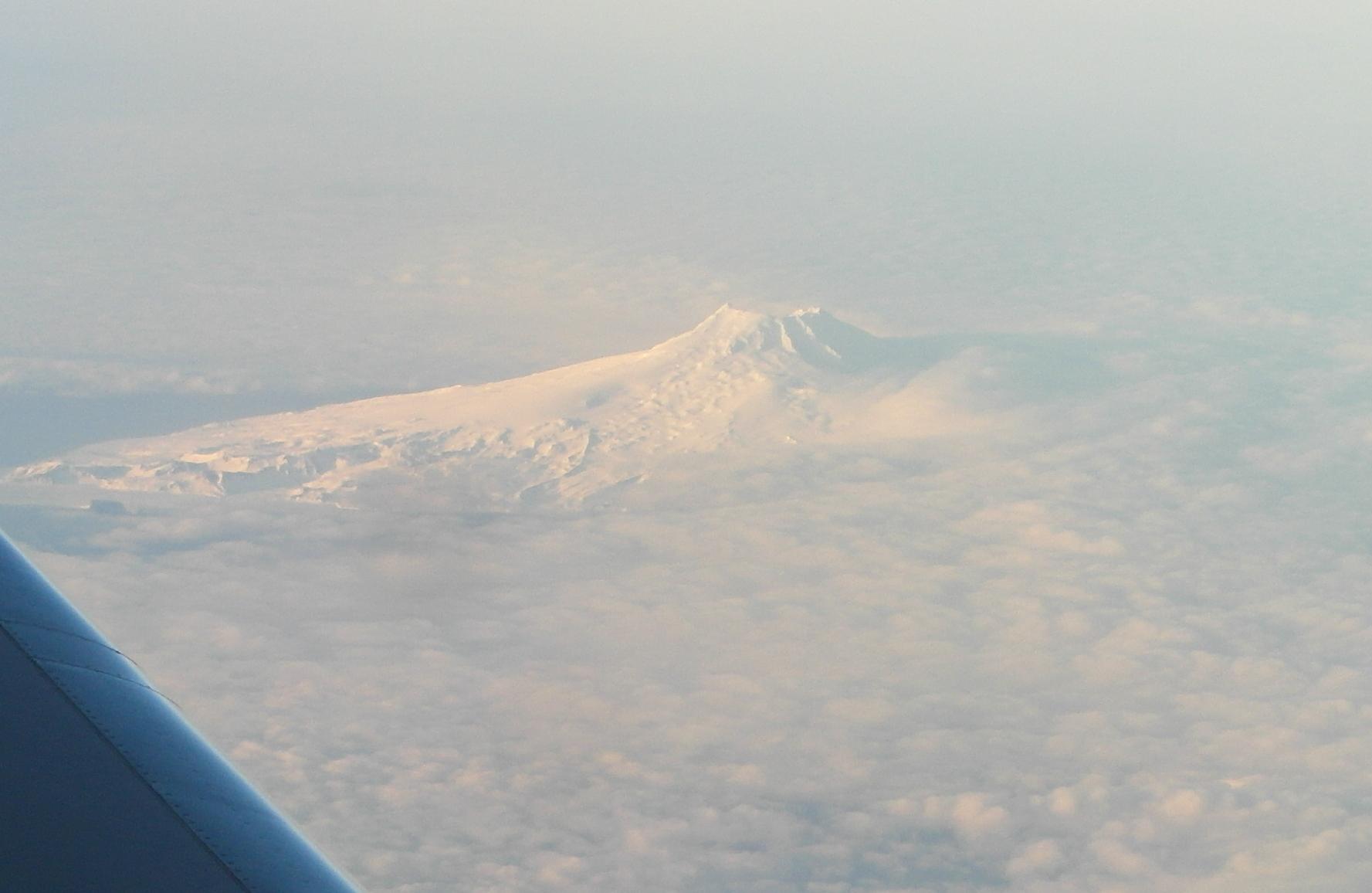 Beerenberg volcano on Jan Mayen. Picture by Thomas Gulde, KIT.