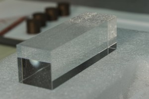 LYSO Kristall (Bild: Irakli Keshelashvili)