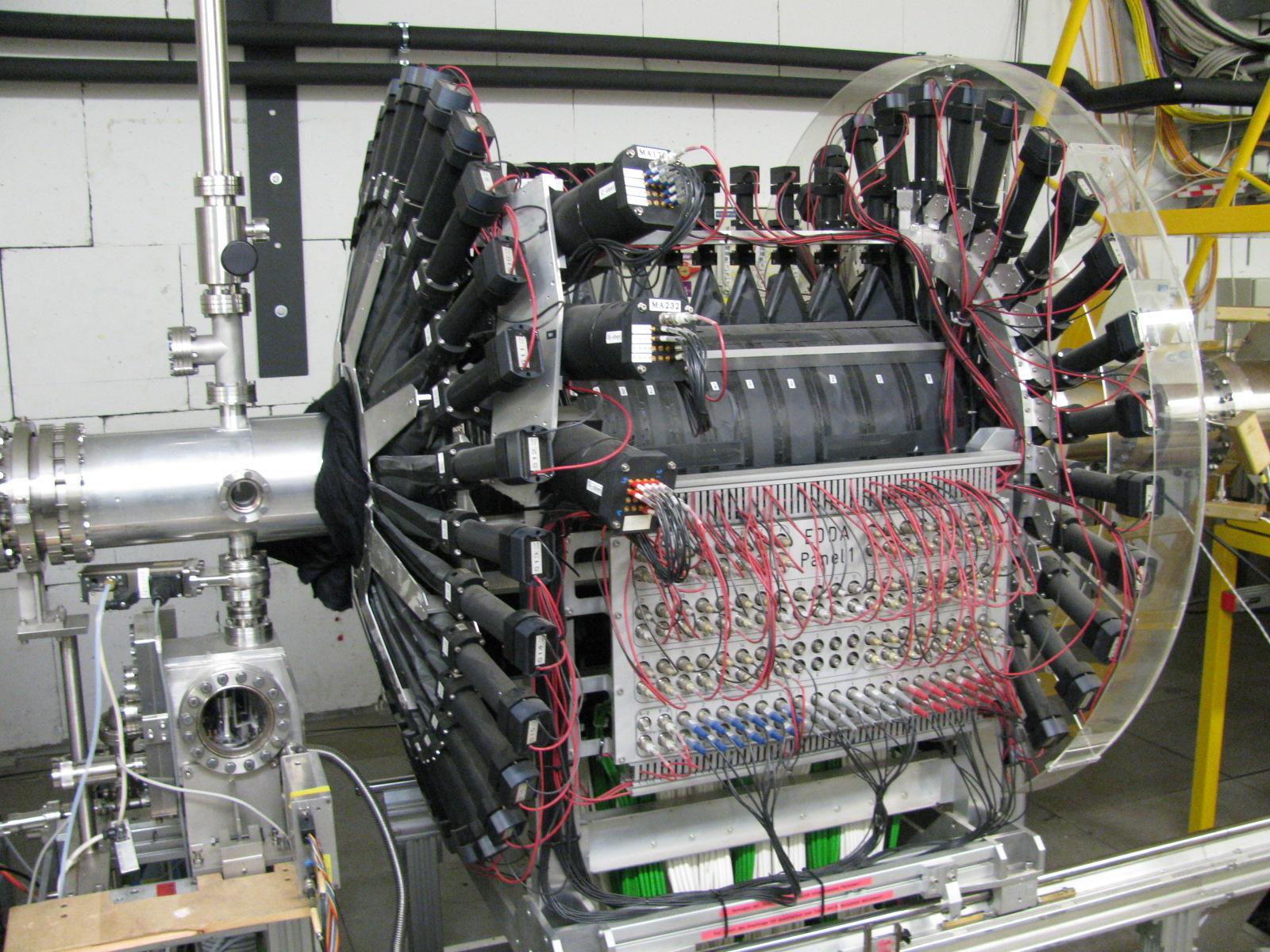 EDDA Detektor an COSY (Bild: Ed Stephenson)