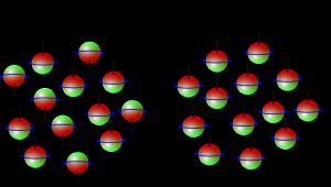 Unpolarisierter und polarisierter Strahl (Bild: VH)