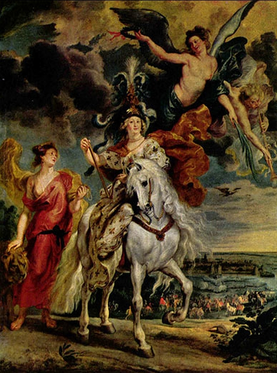 """Peter Paul Rubens """"Die Einnahme von Jülich"""""""